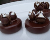 Wedding favors Chocolate bon bons magnets/ Party favors..50.Made to order