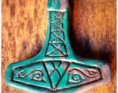 Mjollnir // Thor's hammer pendant