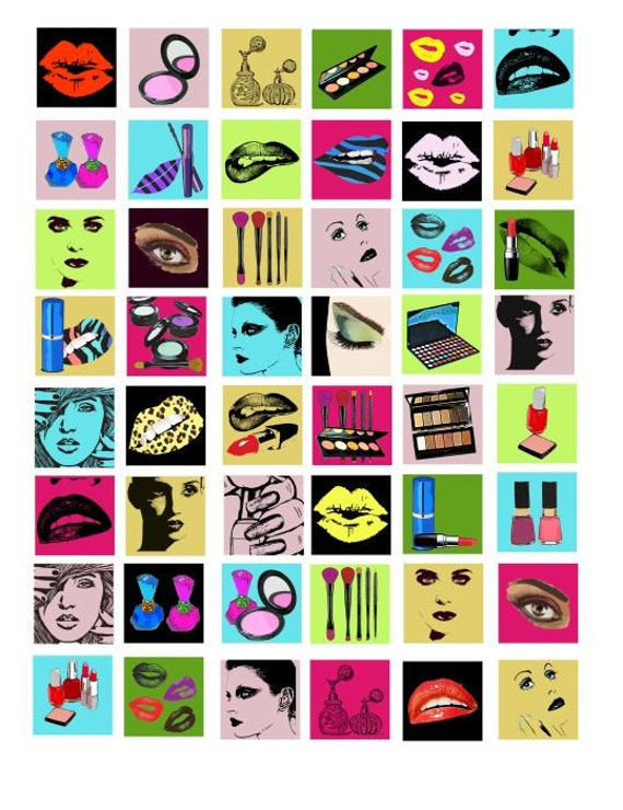 Makeup Clip Art: Unavailable Listing On Etsy