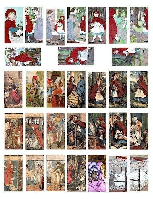 Pie Comic Red Riding Hood Little Red Riding Hood