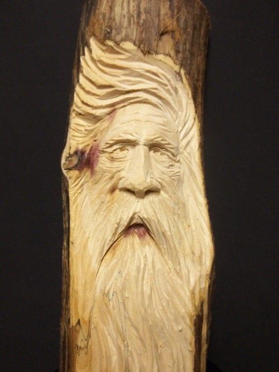 Woodspirit hand carved