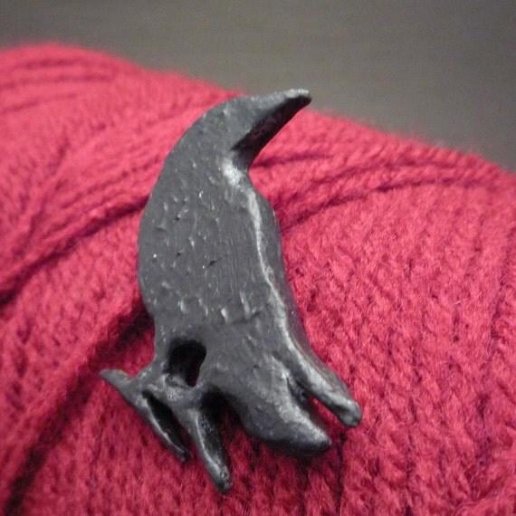 November  - Polymer Clay Pin