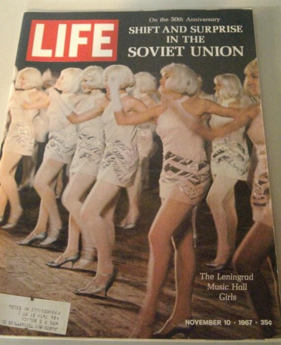 Vintage LIFE Magazine November 1967 Soviet Union Issue