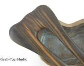 Mun Ebony Wood Lilli Mermaids Tail Hair Fork Grahtoe