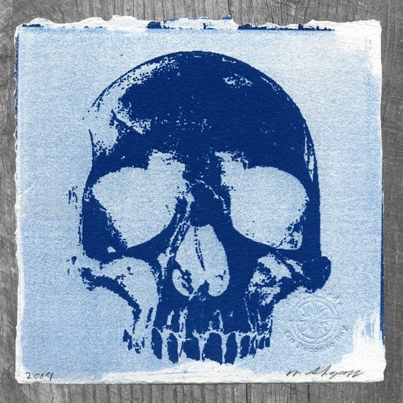 Numbskull Cyanotype No. 127