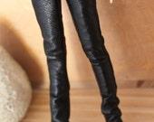 jiajiadoll-black leather pants fit momoko or blythe or misaki