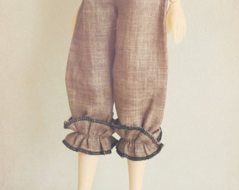 DISCOUNT 20% OFF jiajiadoll light brown lace pants-for Momoko or Misaki ONLY
