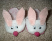 BUNNY SLIPPERS FIT AMERICAN GIRL DOLLS - EASTER