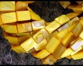 RECTANGLE SHELL Beads - GM216