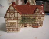 Collectible Ceramic Miniature House