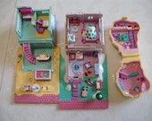 Vintage Polly Pockets-Mint Condition No Dolls