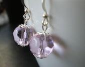 Crystal Pink Earrings 376