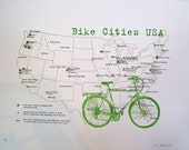 bike cities usa map