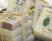 sampler pack of our all vegetable soap 1 oz bars