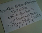 Calligraphy and Envelope Addressing - Lexington