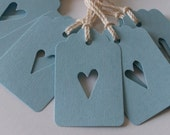 Gift Tags - You Have My Heart - Light Blue - Small (Set of 10)