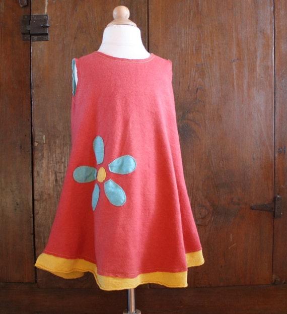 organic reversible daisy dress
