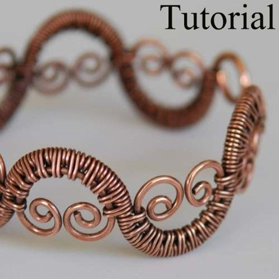 DIY Jewelry Tutorial - Woven Vine Bracelet - PDF