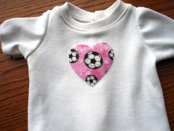 Matching T Shirt Set for Girl and American Girl Doll Your Choice of embellishment