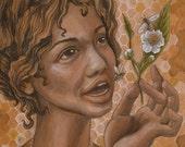 Bee Mother-Giclee Fine Art Print