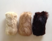 Catnip Cat Toys/Shades of Mink/Recycled Fur