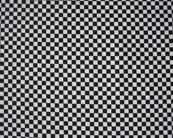 Black and white checkered fabric for Black and white fabric