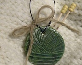 Ceramic Yarn Ball Decoration