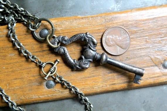Neptunes Skeleton Key Necklace
