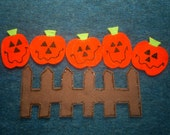 Five Little Pumpkins Felt Flannel Board Set