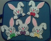 Five Little Bunnies Flannel Board Felt Set