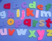 Alphabet LowerCase Letters Flannel Board Felt Board Set