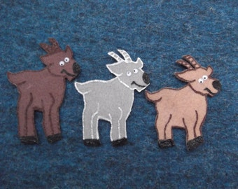 The Three Billy Goats Gruff Felt Board Flannel Story