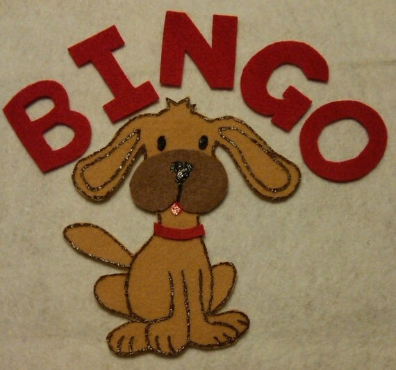 BINGO Children's Flannel Board Felt Set