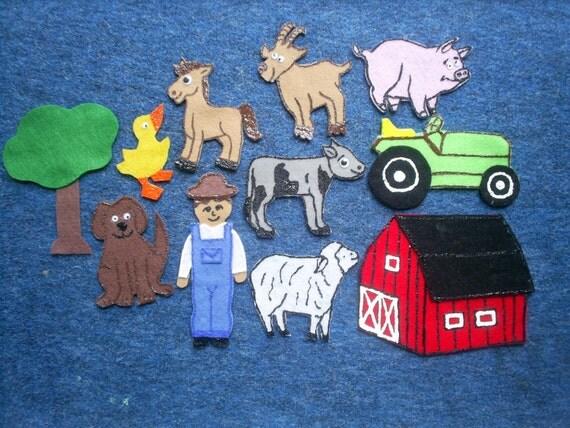 Old Macdonald Had a Farm Felt Flannel Board Set