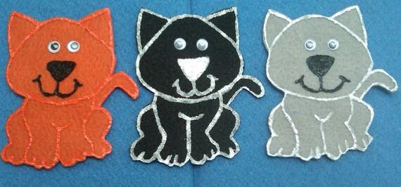 Three Little Kittens Felt Board Flannel Board Story