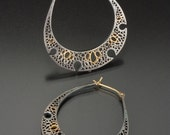 Earrings No. 16, Stained Cell Series, 2008  RESERVED