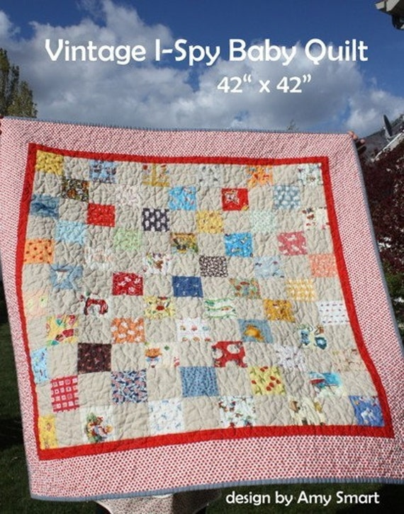 I Spy With My Little Eye Quilt | Make and Takes
