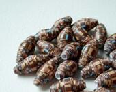 Mocha Paper Beads