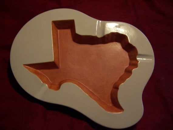 Ashtray in the shape of Texas