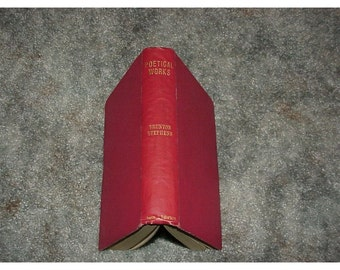 1902--Poetical Works Of Brunton Stephens--Hardcover--Antique Book Of POETRY--Australia