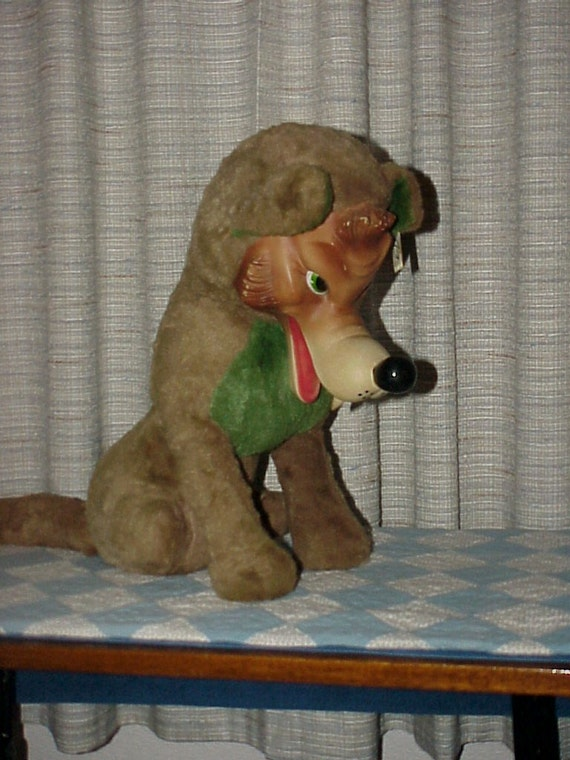 The Big Bad Wolfrubber Facedplush Toymy Toy