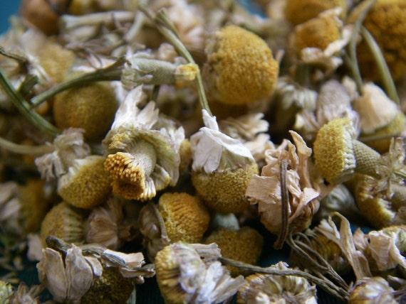 Chamomile Flowers - ORGANIC Tea, Skin Care, Relaxation, Pot Pourri, Hair Lightener - 50g