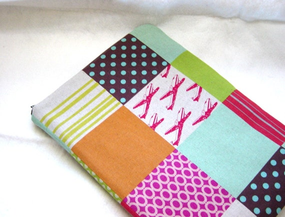 MacBook Air 11 inch Sleeve Padded Case -  Patchwork