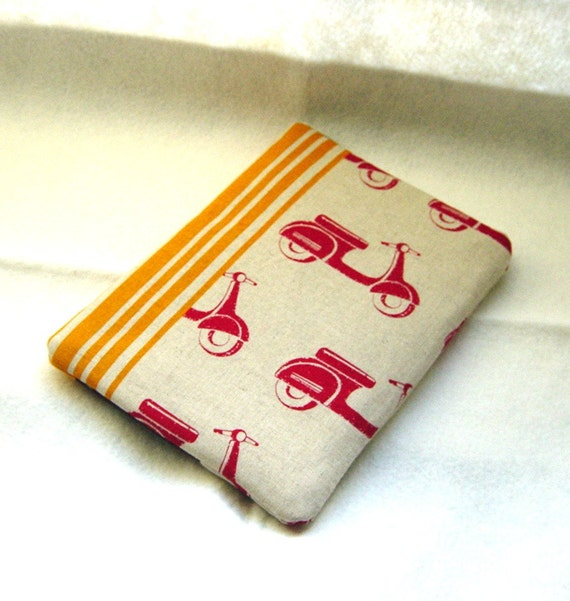 Kindle Cases, Nook Padded Covers, eReader Sleeves - Red Scooter