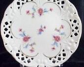 Vintage 15 Piece Lace Cut-out Plates