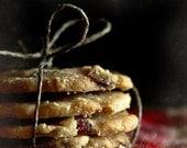 Cookies.  Fine art kitchen photography print. 8x8 (20x 20cm)