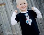 Boy's Argyle Tie shirt
