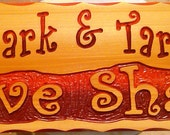 9x24 Personalized Love Shack Sign