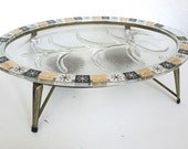 Mid Century Modern Starburst Chafing Dish