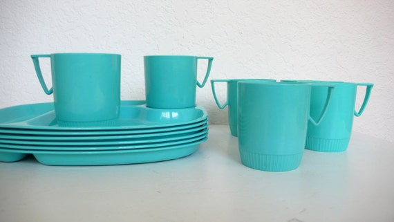 Turquoise Snack Set